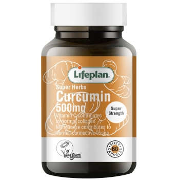 CURCUMIN 500 mg N60, LIFEPLAN SUPER HERBS