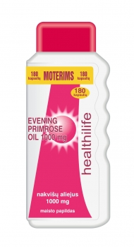 HEALTHILIFE EVENING PRIMROSE OIL 1000 mg N180