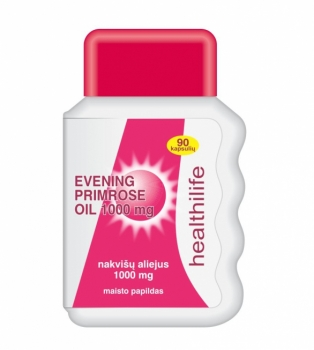 HEALTHILIFE EVENING PRIMROSE OIL 1000 mg N90